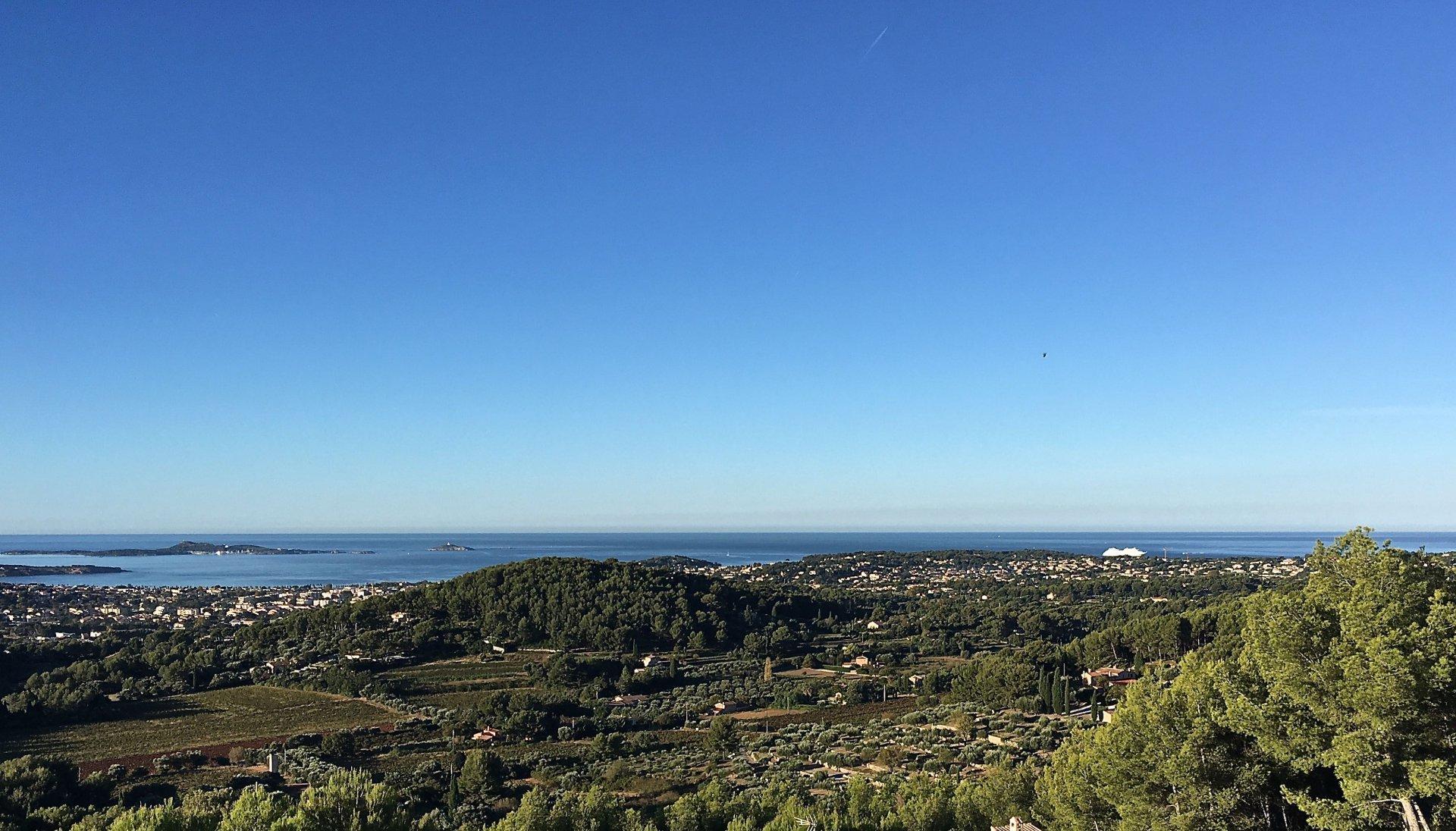 Stunning sea view modern house Sanary Var Provence