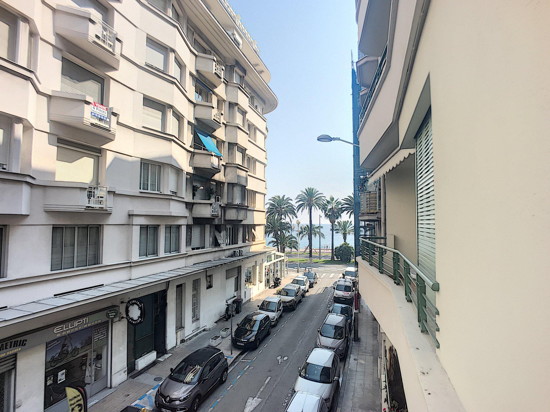Nice Le Capitole : 2 pièces terrasse échappée mer