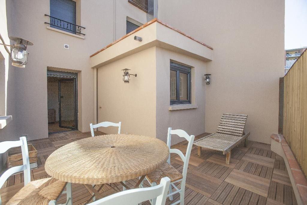 Centre-ville de Perpignan, appartement T4 de standing avec terrasse à vendre