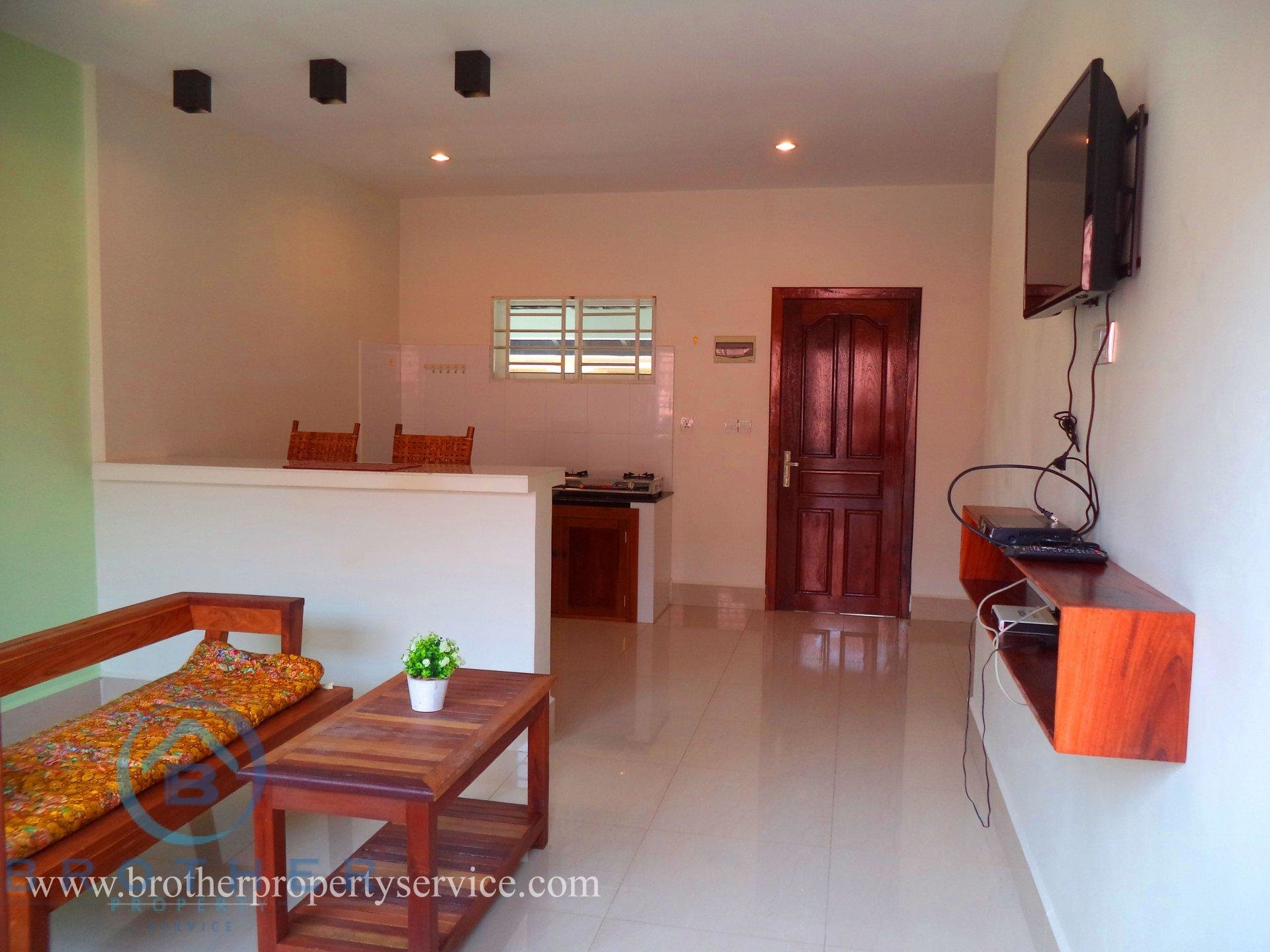 One bedroom Western style  Apartment  for rent in Sok San road