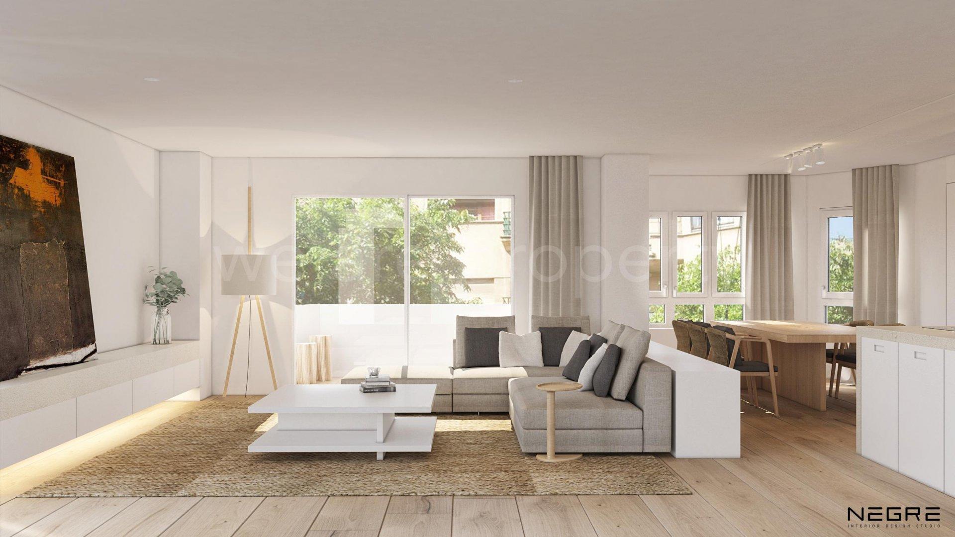 Apartamento reformado en perfecta ubicación urbana