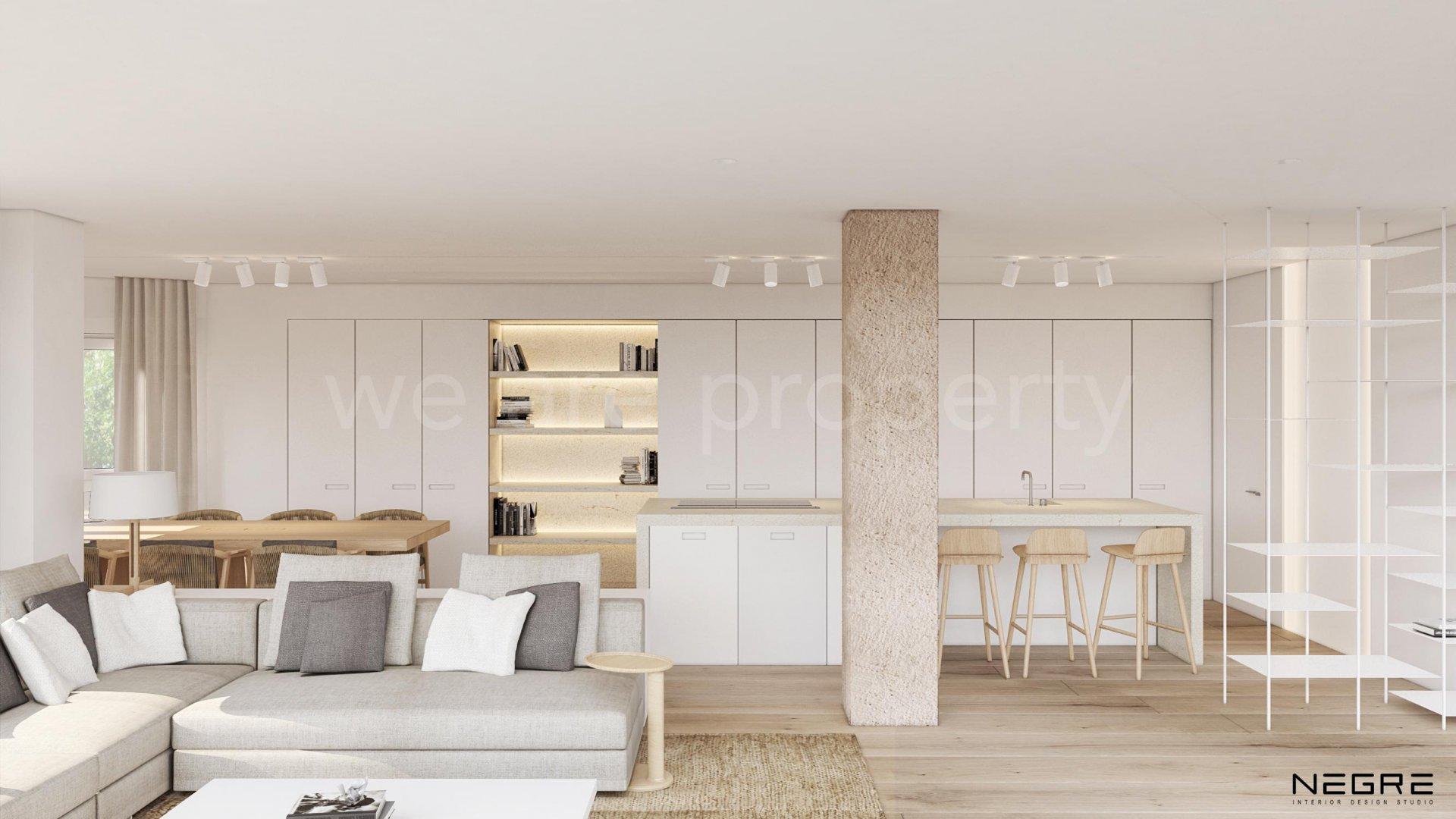Renoverad lägenhet i fantastiskt stads läge