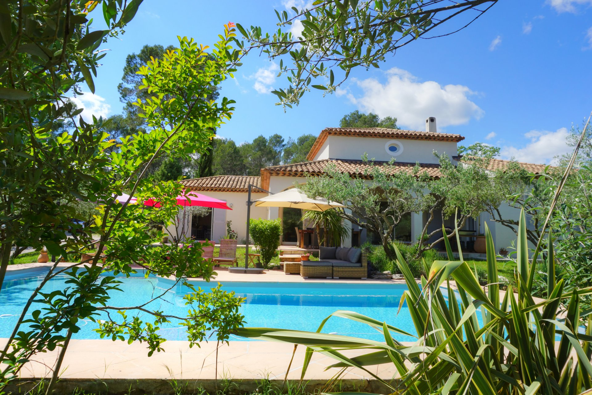 Stunning villa with pool near Lorgues