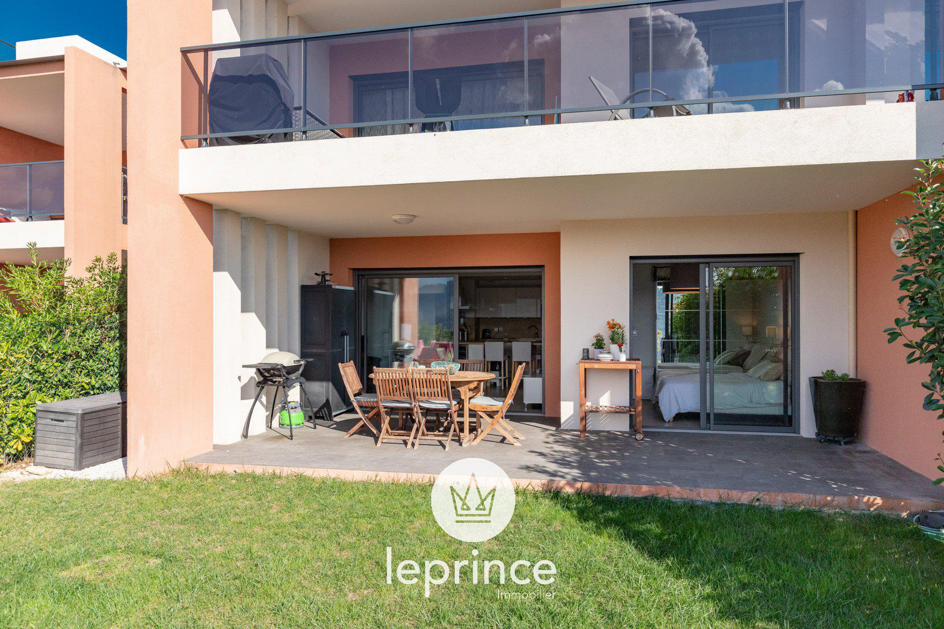 Nice Ouest / Crémat 3 Rooms Garden Residence with Swimming Pool Garage