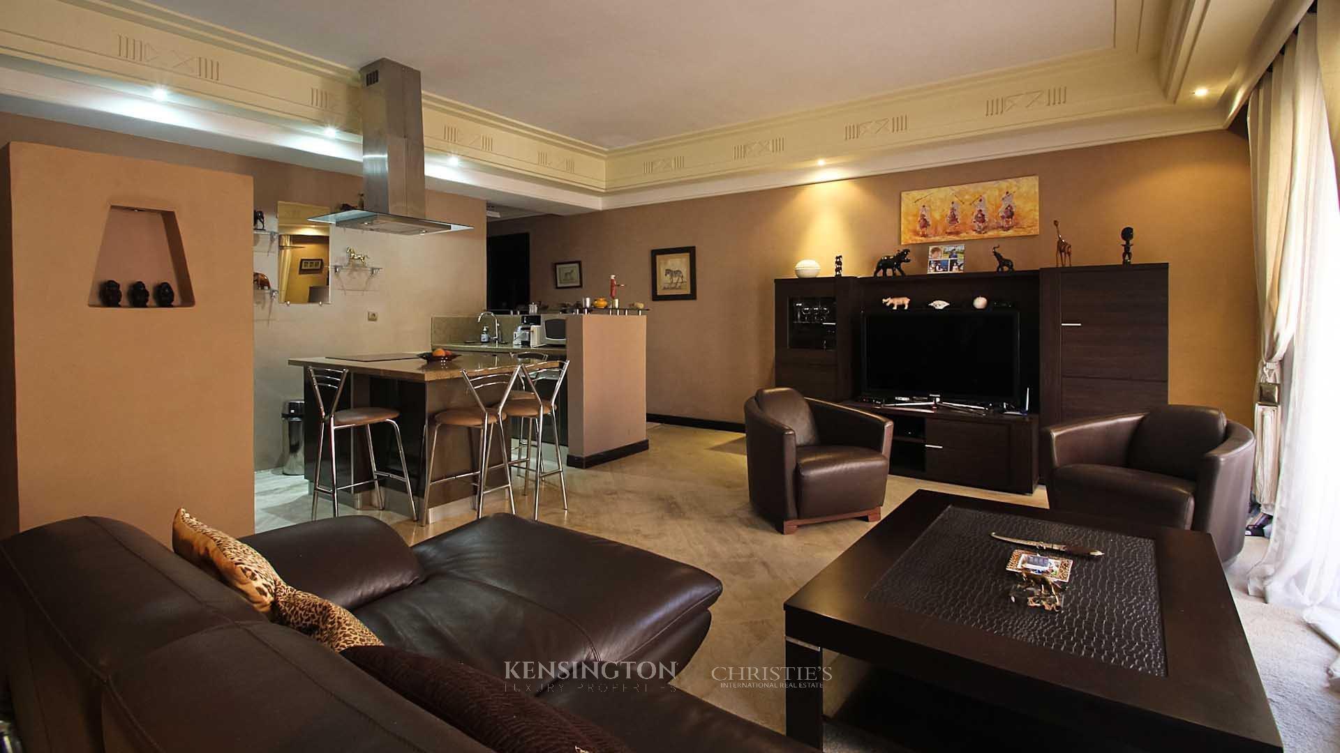 KPPM01089: Duplex Ocre Apartment Marrakech Morocco