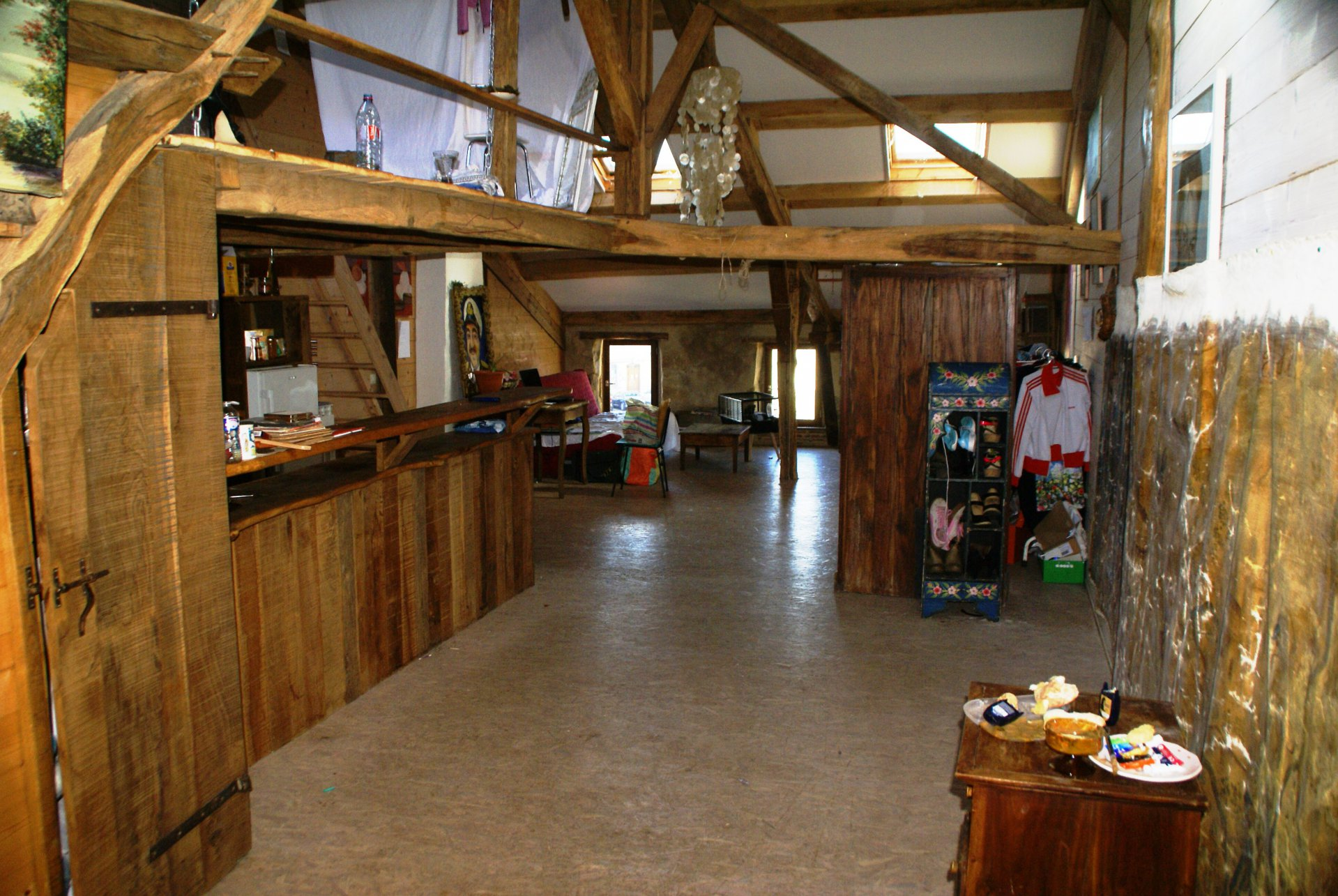 Brocantewinkel, restaurant, salon de thé met ruimte voor meer! Gers/Midi-Pyreneeën