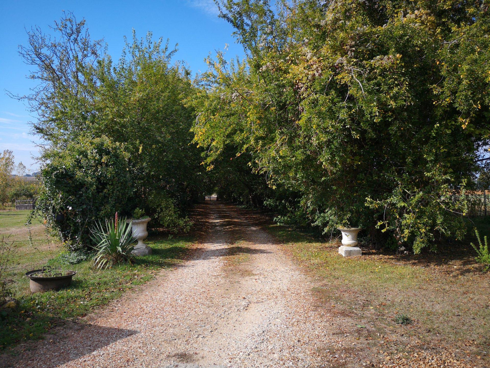 FERMETTE 156m²  MAROLLETTE 1.5 hectares de terrain