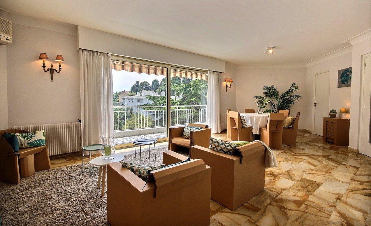 Appartement 4P 115m2 avec large terrasse sud vue verdure