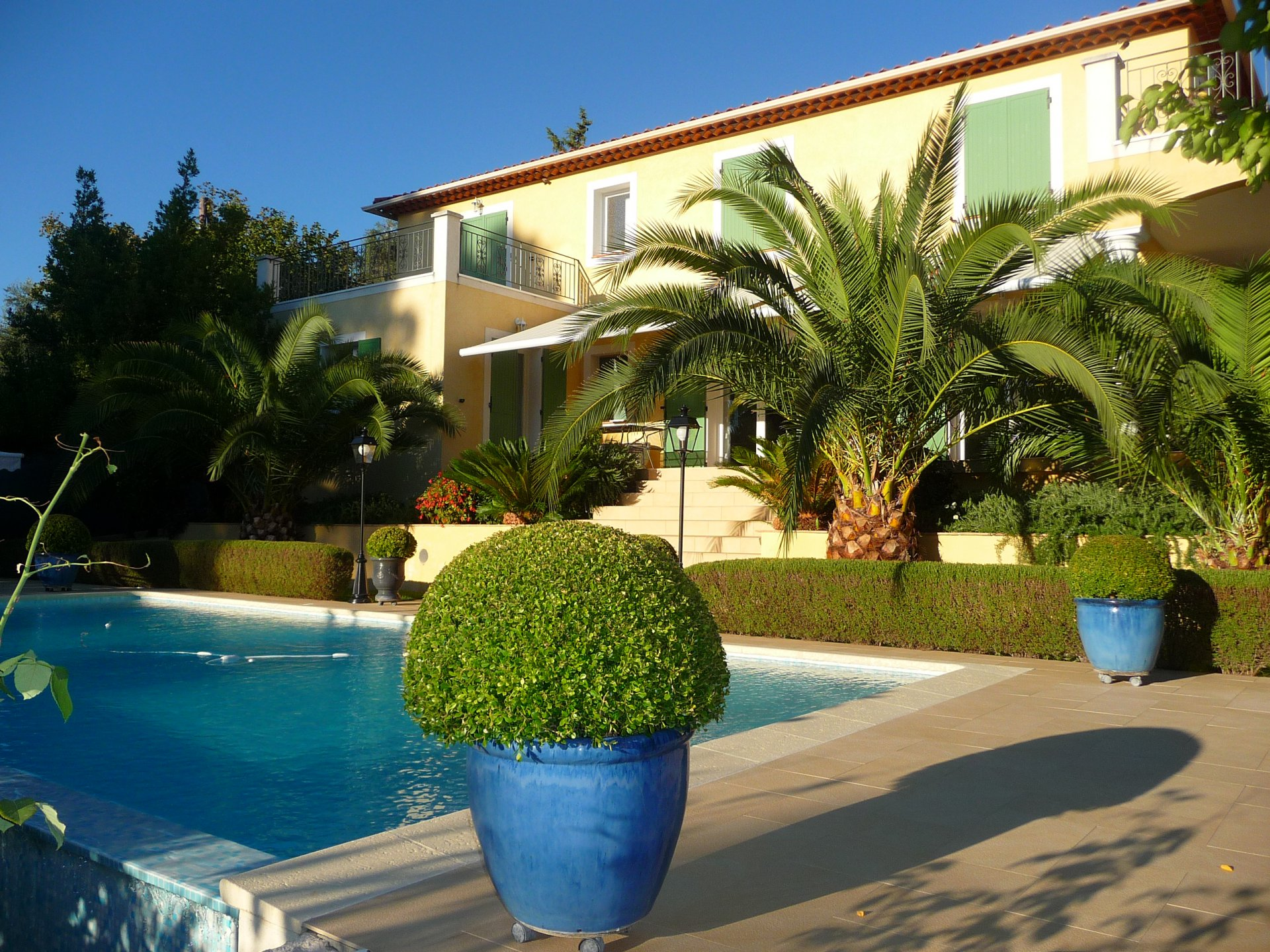 Vence, residential area, lovely recently built house