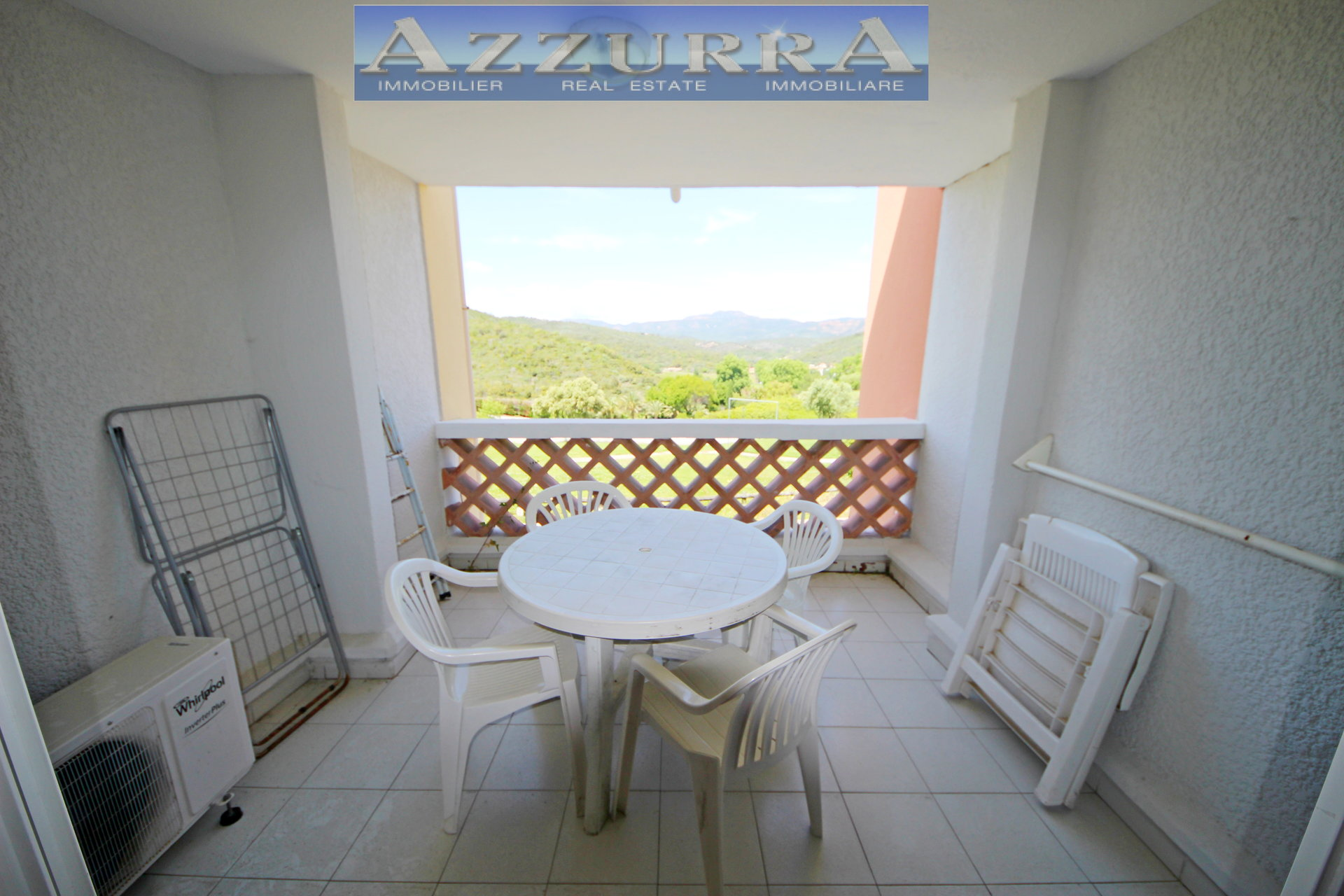 PURCHASE AGAY Cap Esterel village studio studio furnished cabin with golf view