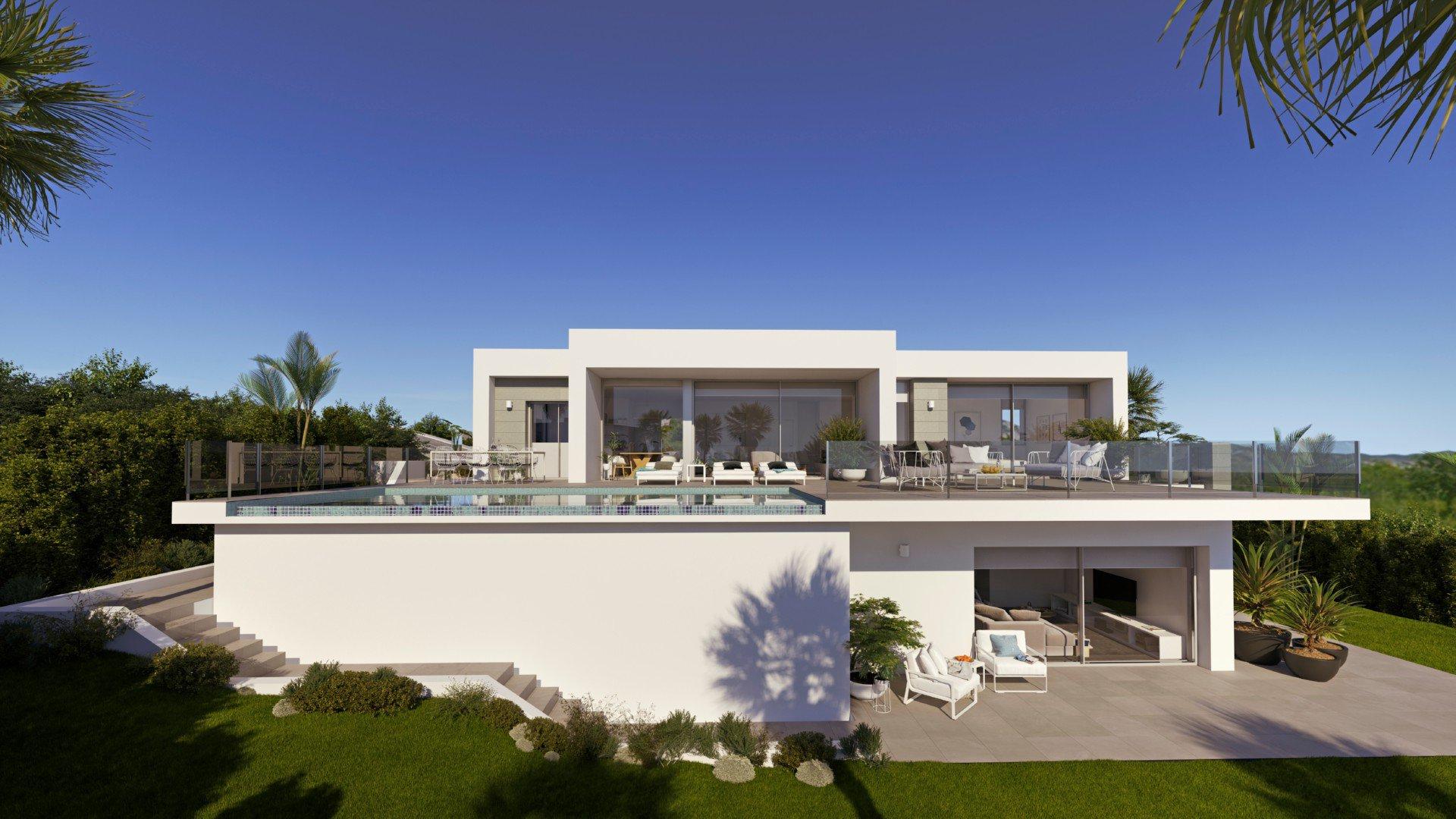 Modern villa for sale in Benitachell