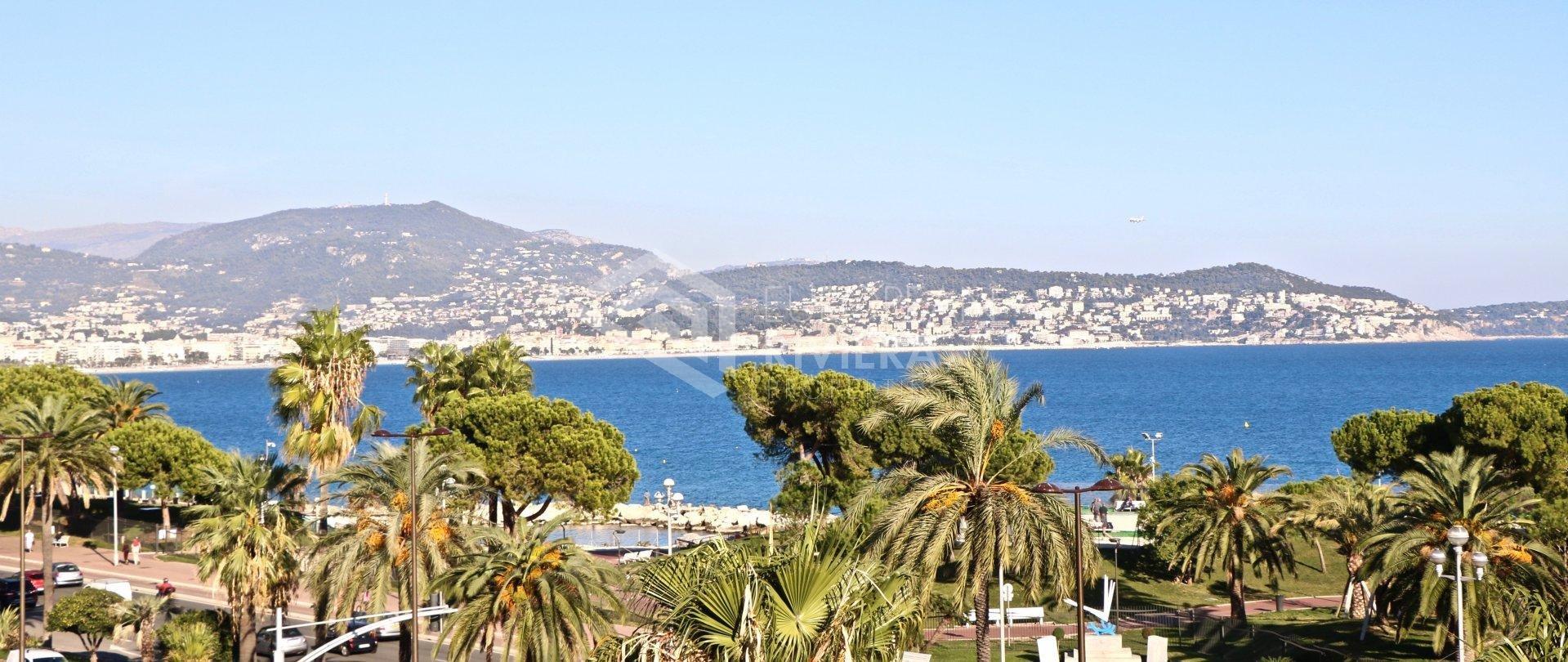 Nizza Sontuoso 3 camere di 93 m2 - vista mare - 2 terrazzi