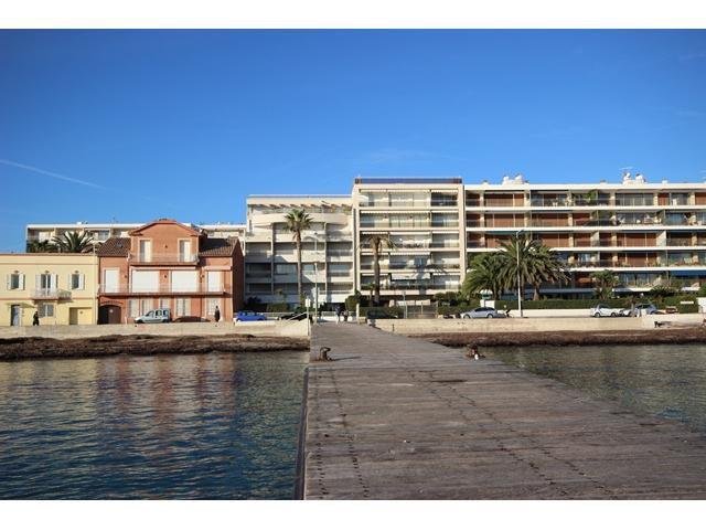 Cannes Palm Beach lägenhet till salu med havsutsikt