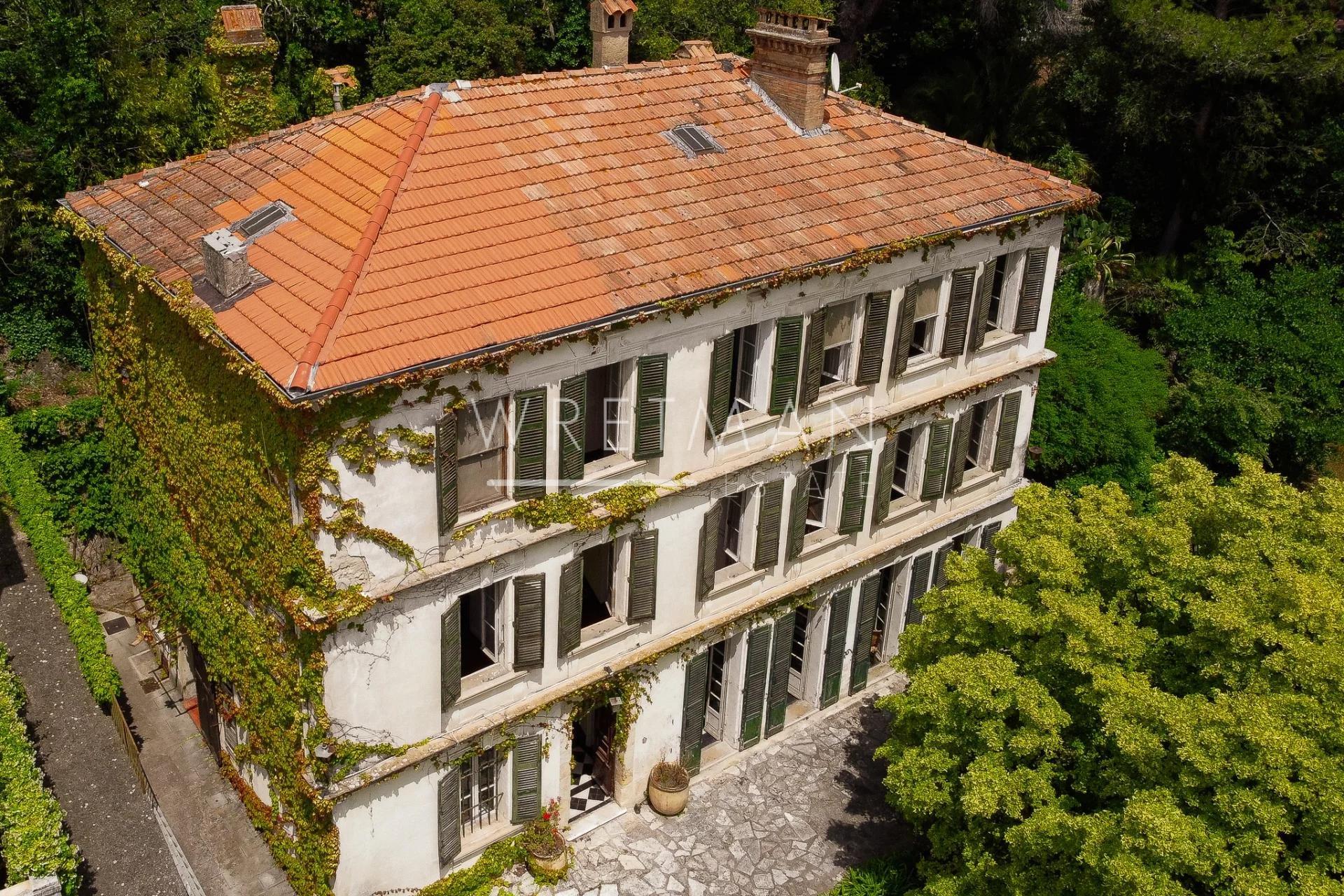 Unik Mas frân 1800 talet, att renovera - Grasse