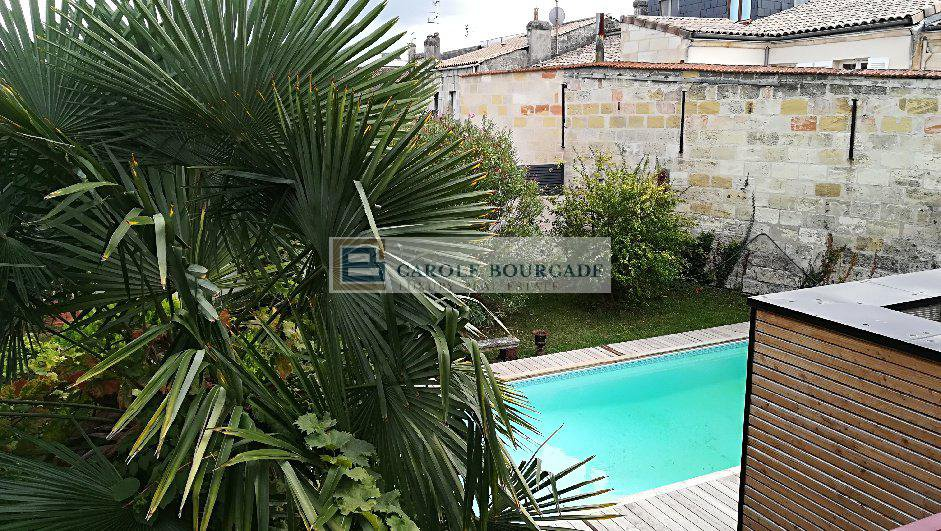 Bordeaux -Chartrons area - Exceptionnal House- garden -garage-4 bedrooms