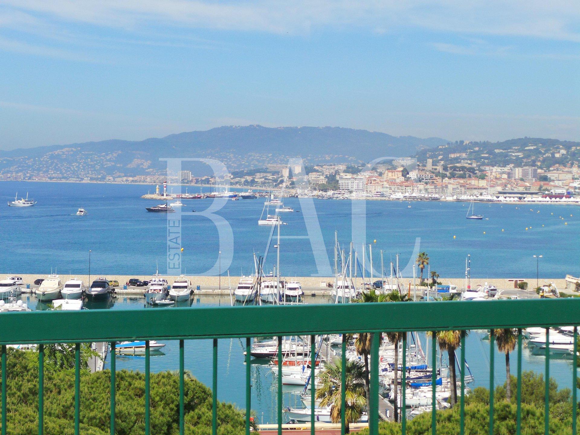 Cannes, Boulevard de la Croisette, un appartement duplex en dernier étage