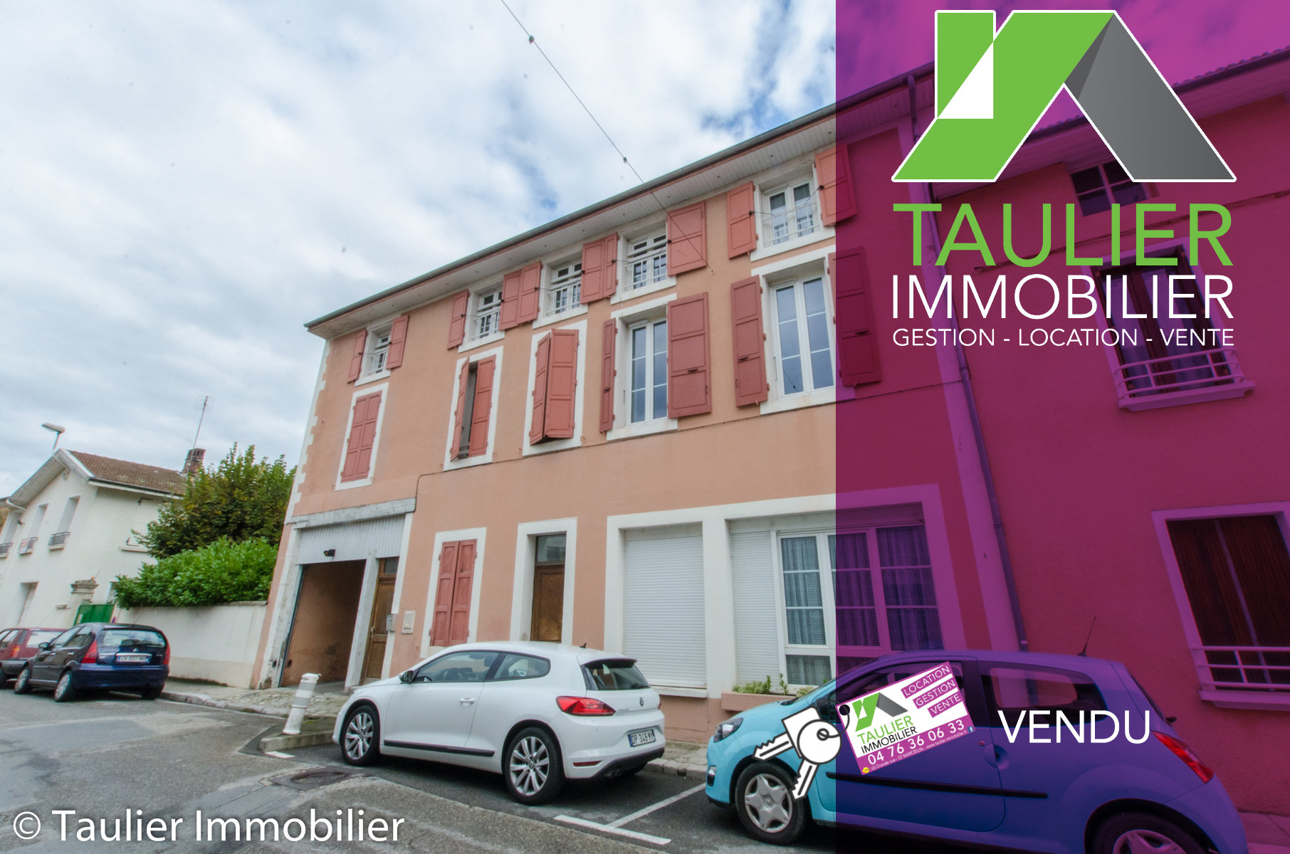 Immeuble 9 appartements + parking