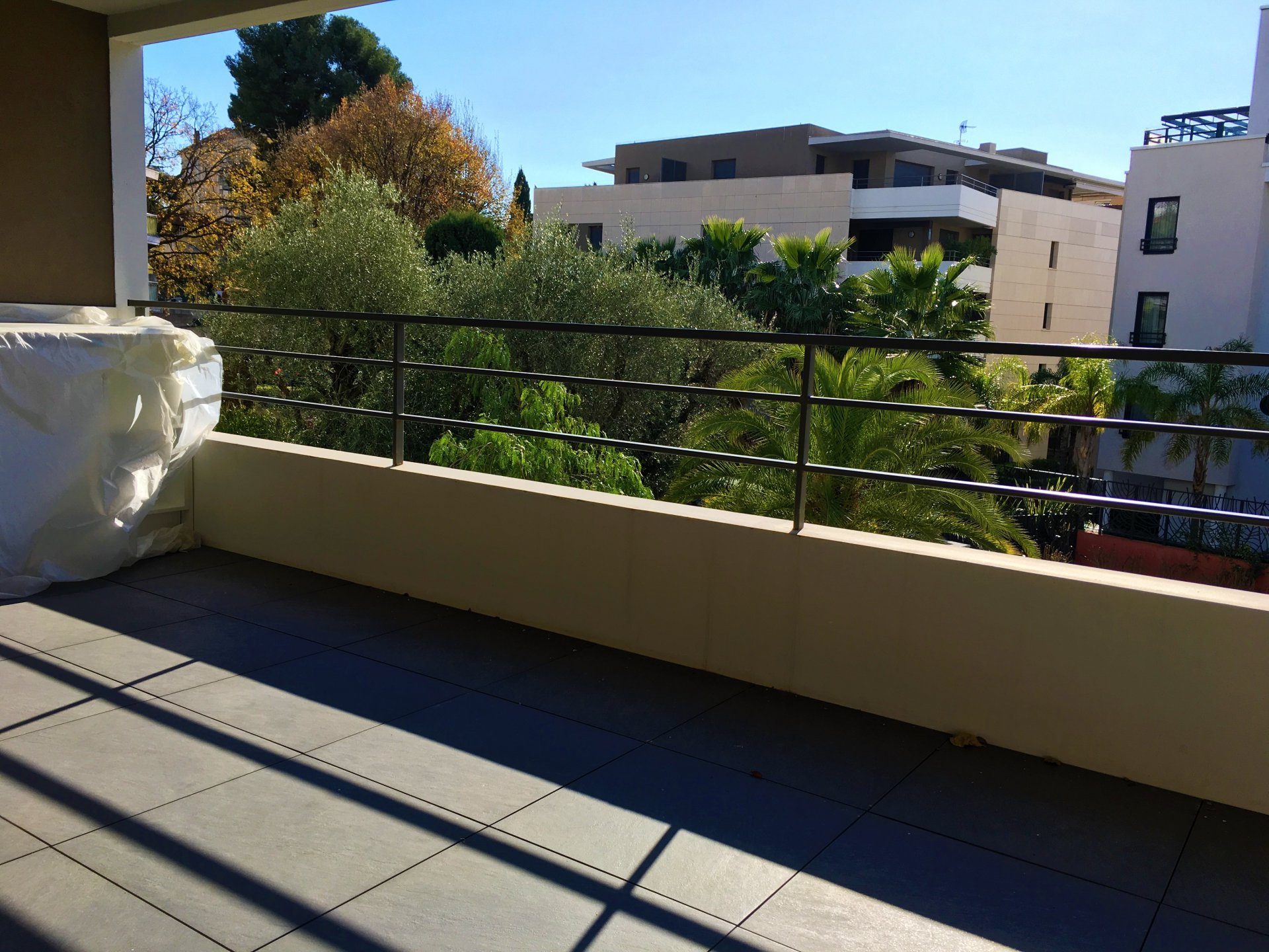 CANNES PROX PLAGES RESIDENCE STANDING PISCINE