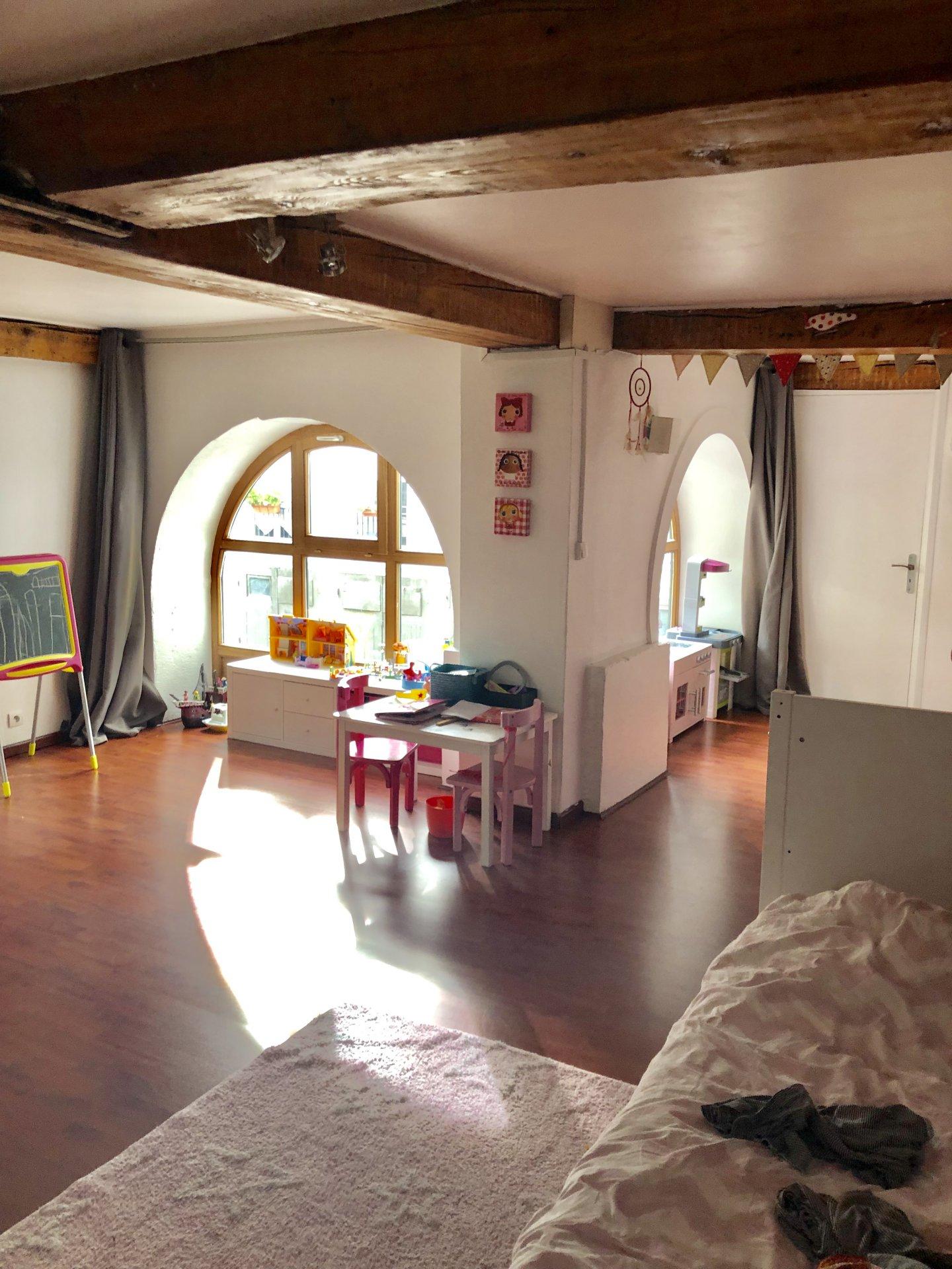 Bel Appartement t3 hyper centre de st etienne  + garage