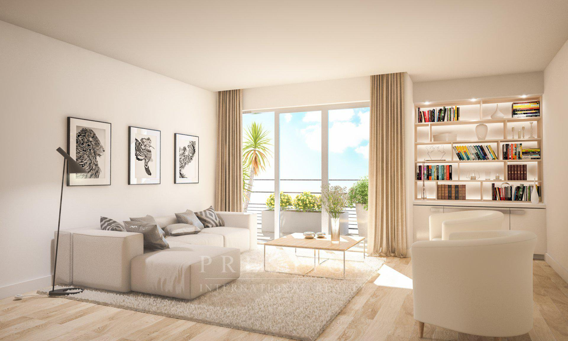 1-bedroom apartment in Antibes center