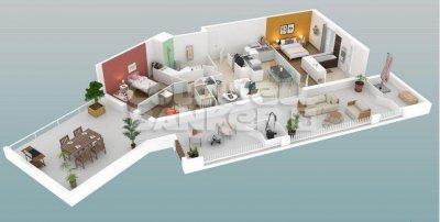 Appartement 4 pièces Le Bouscat