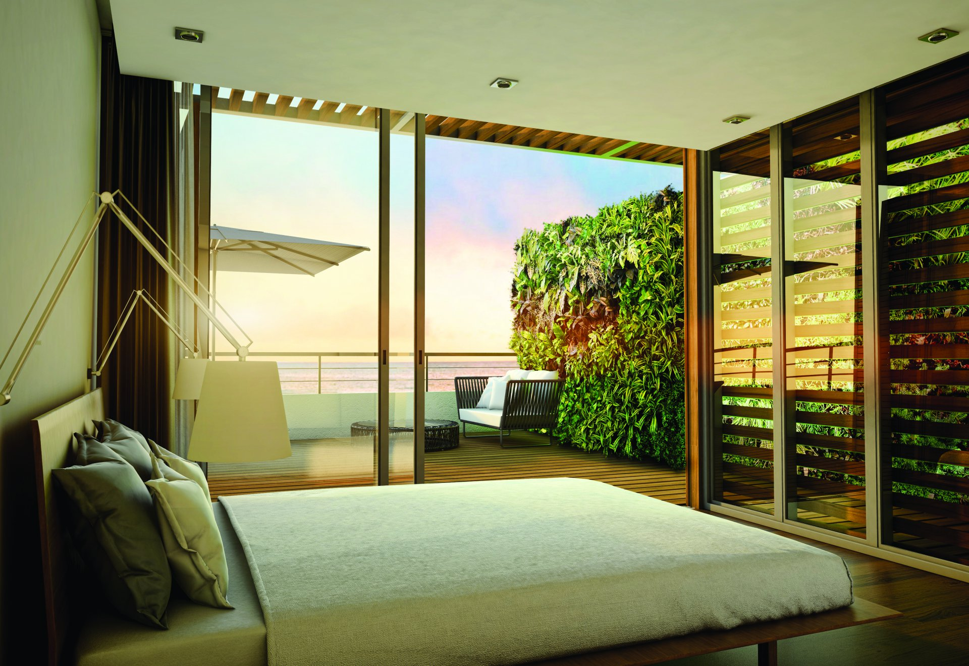 Beautiful apartment on the 2nd floor of a residence in Mauritius