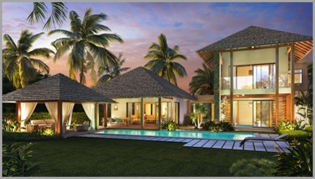 3 bedroom villa on the Grand Gaube in Mauritius