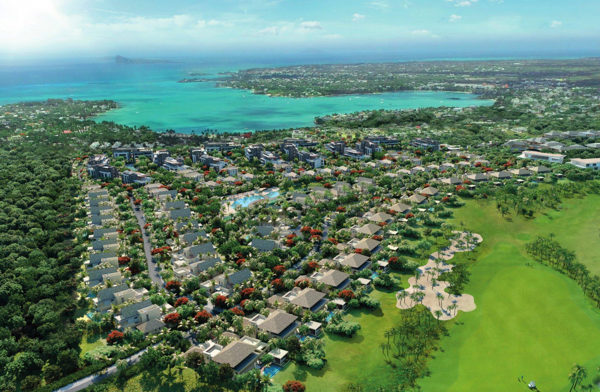 La quintessence du luxe sur un domaine Golf et Plage