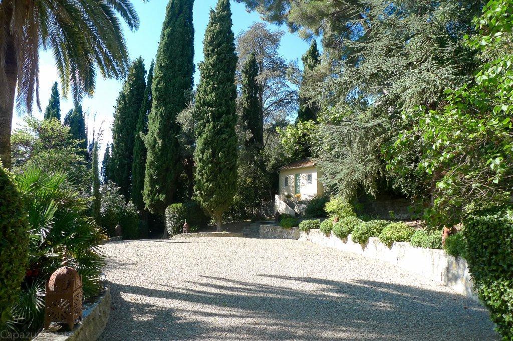 Maison de Parfumeur avec vue mer et piscine - Grasse St Jean