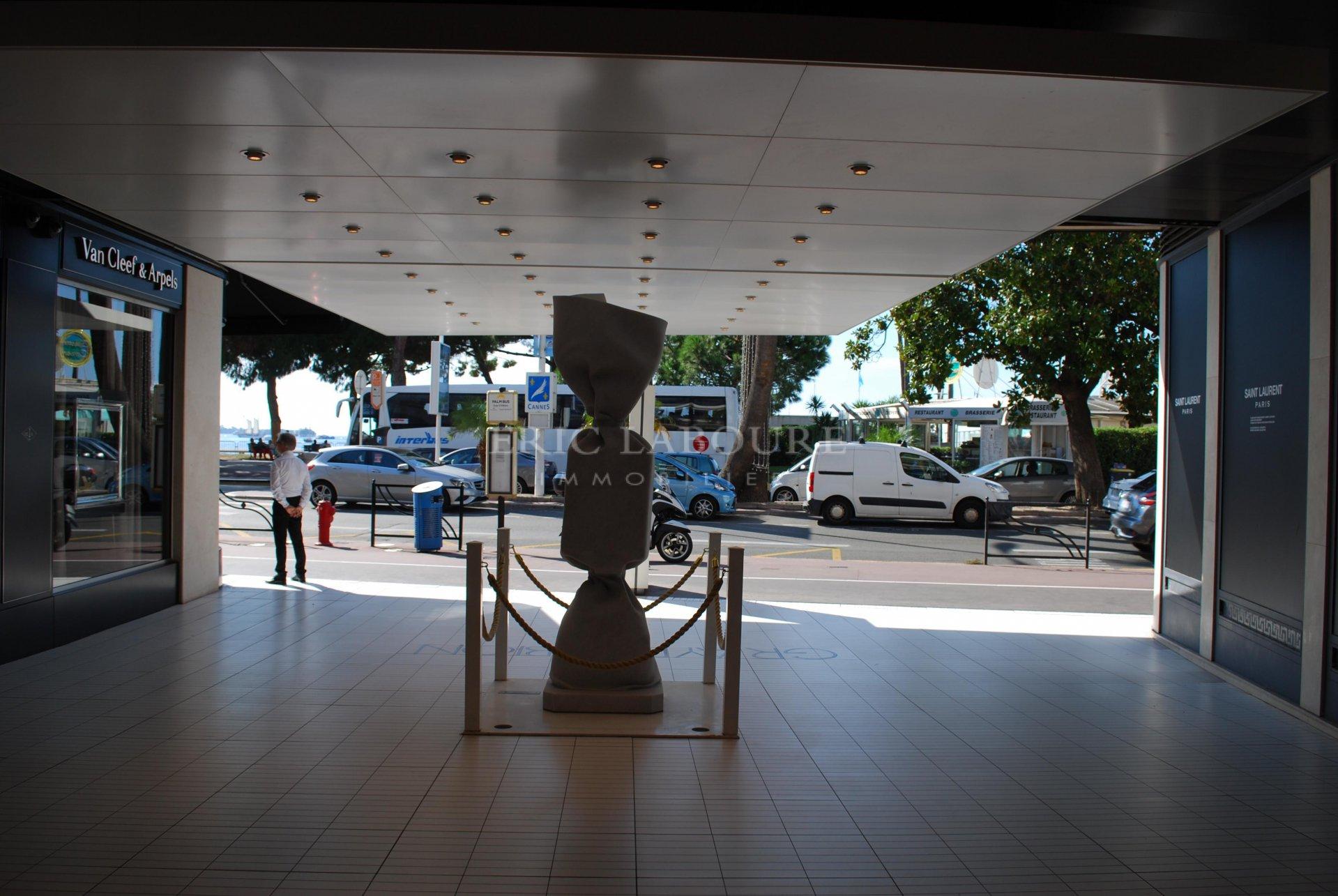 Cannes Gray d'Albion côté Croisette ,location pure