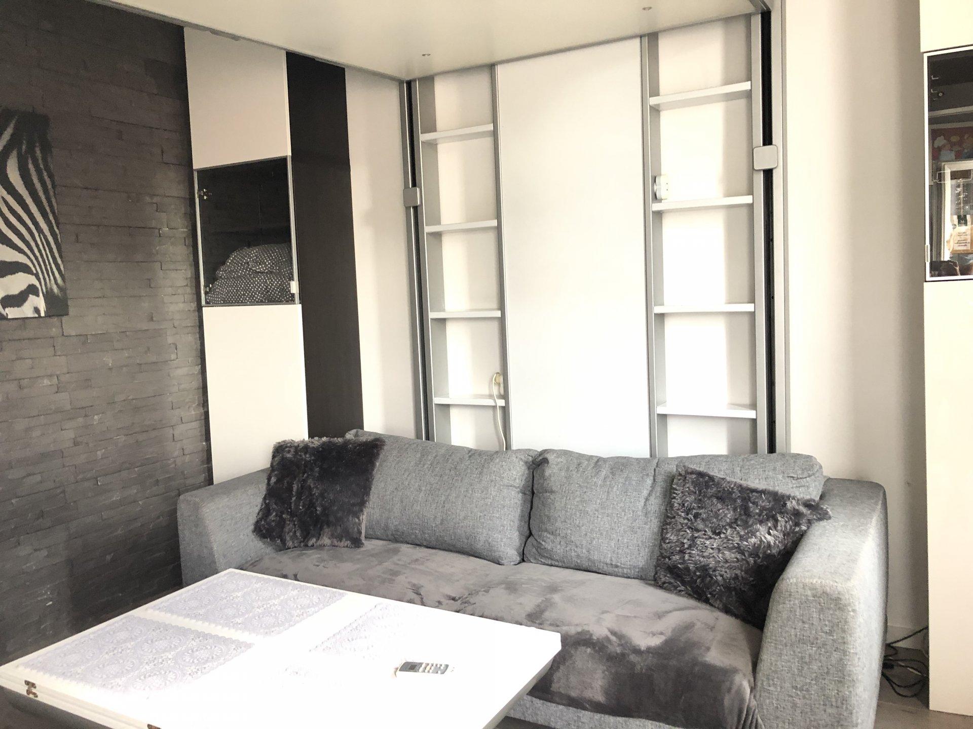 Appartement Clichy 1 pièce MEUBLE(s) 17.79 m2