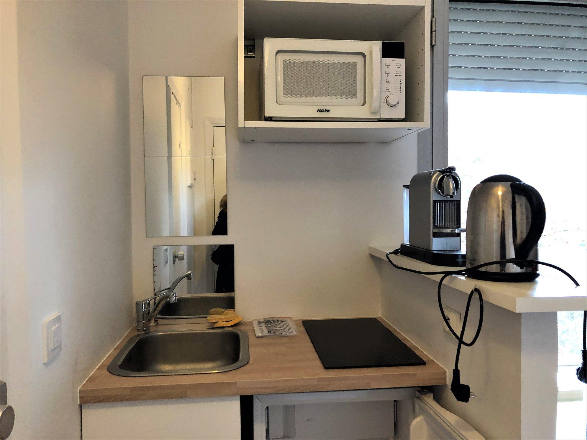 Appartement  1 pièce(s) 14.06 m2  Neuilly sur Seine Studio meuble