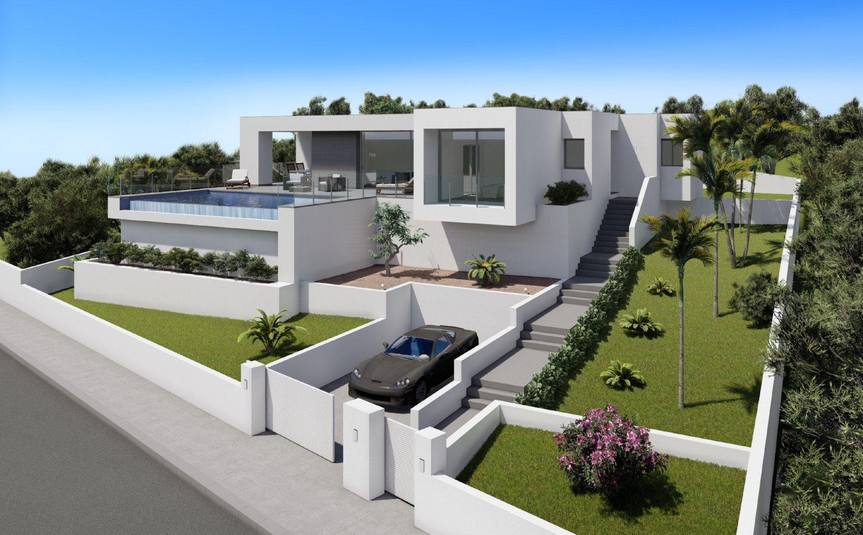 Exclusive designed villa in Cumbre del Sol Resort