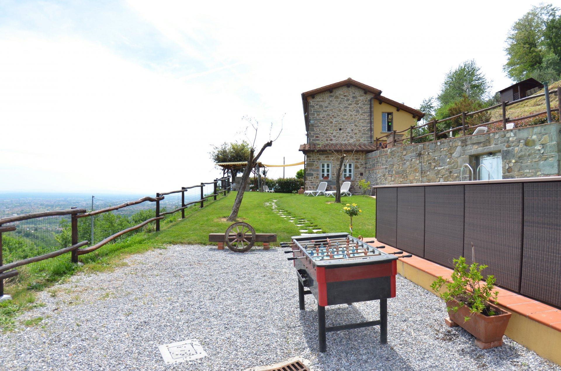 ITALIE, TOSCANE, MAISON EN PIERRE AVEC PISCINE, 4 PERSONNES, MONTECATINI TERME
