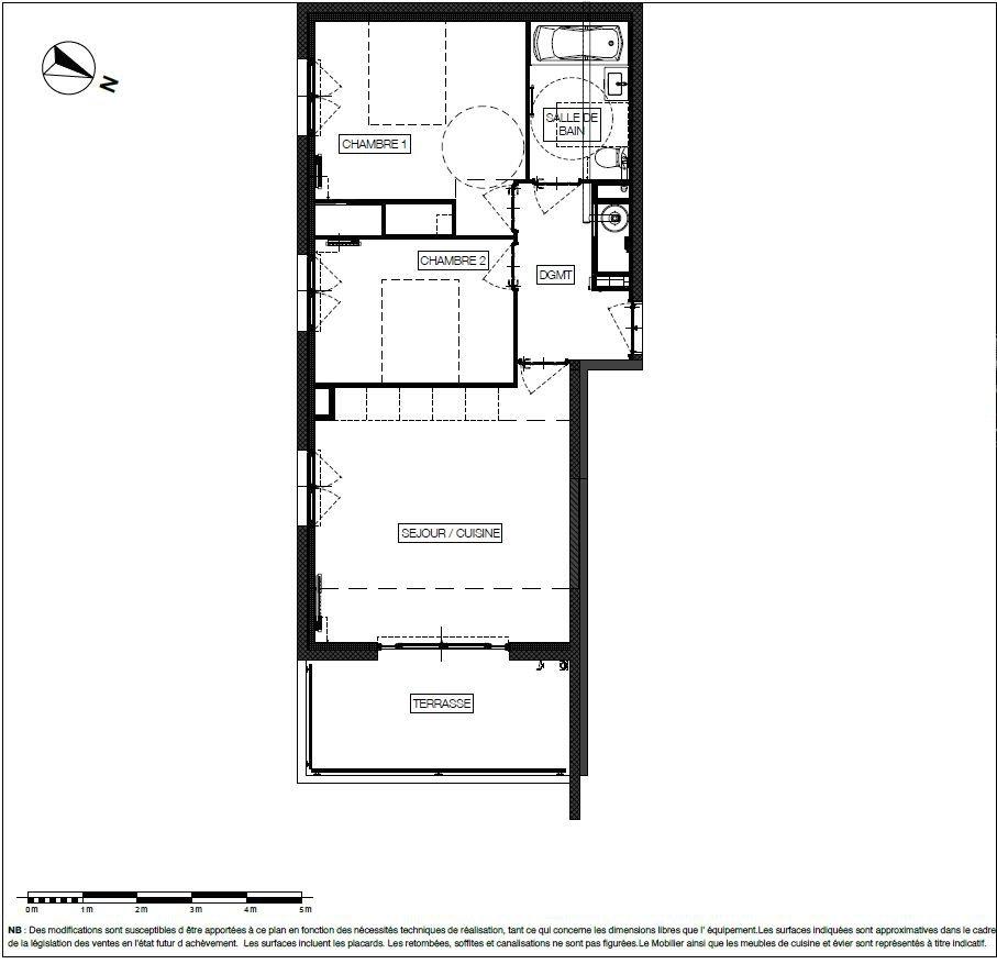 New build 2-bedroom flat - Roquebrune-Cap-Martin