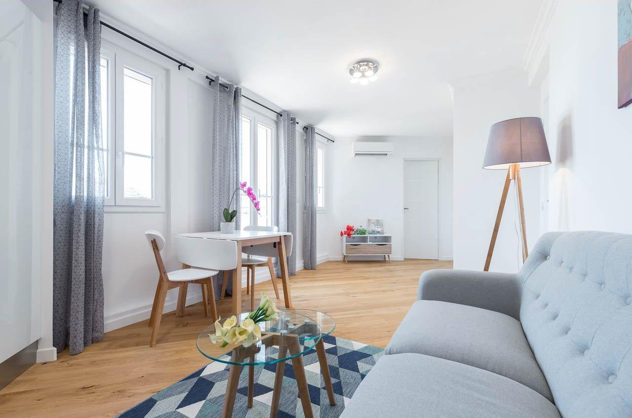 NICE - moderne 2 roms leilighet med takterrasse