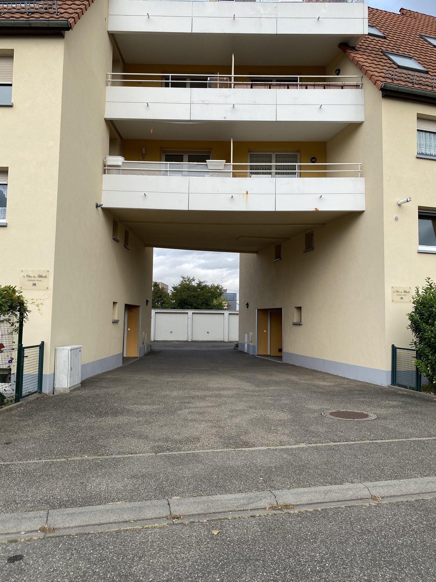 Ostwald - Parking - rue Johannes Kepler