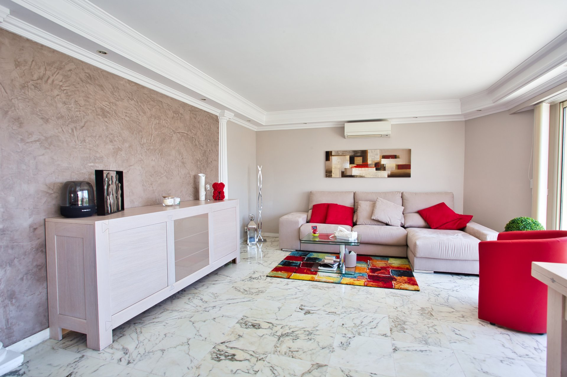 Top-floor apartment with panoramic sea view terrace, Penthouse + 150 sqm Terraces in Cagnes-sur-Mer