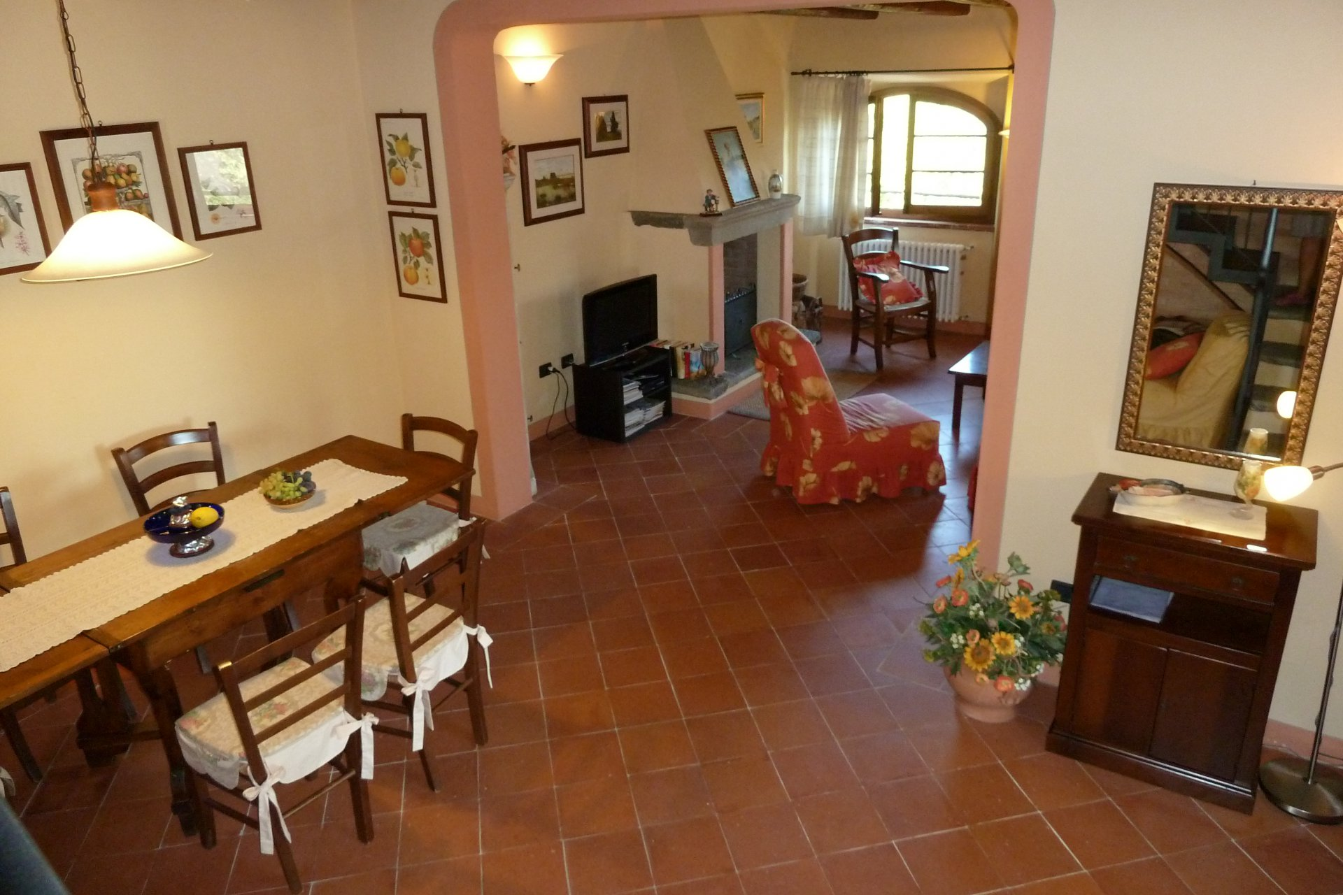 ITALY, TUSCANY, PESCIA, FARMHOUSE WITH POOL, FOR 6 PERSONS