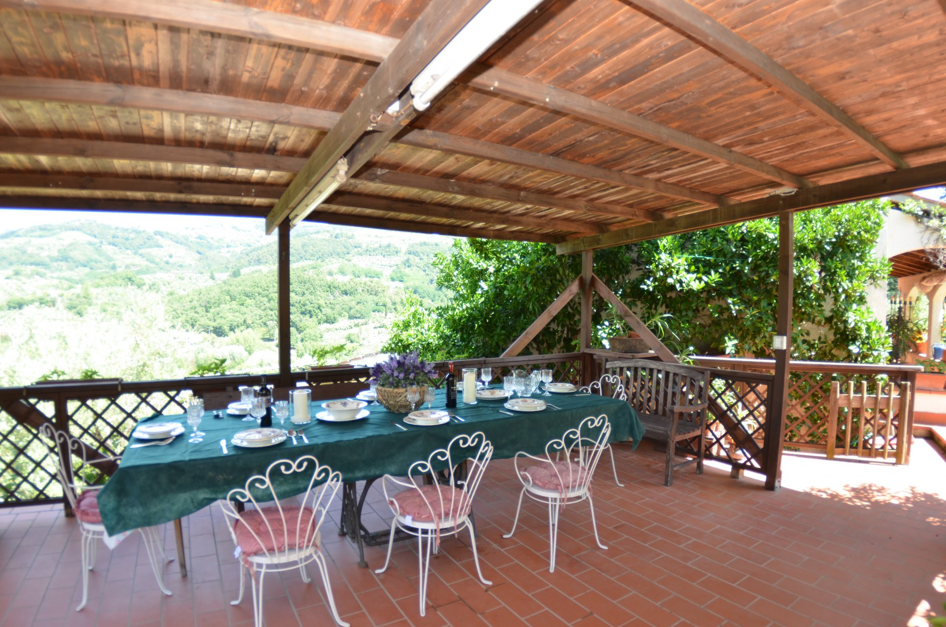 ITALY, TUSCANY, MONTECATINI TERME, HOUSE WITH POOL,  4 PERSONS