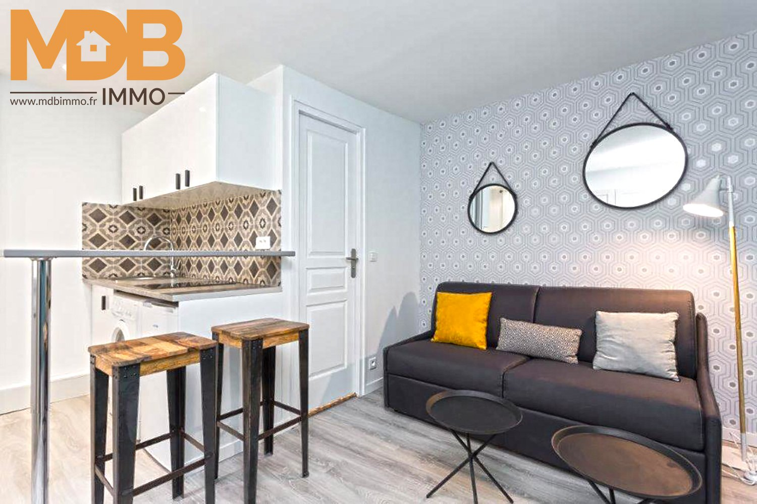 Paris 11th - Studio renovated - Ideal investor - ready to rent!