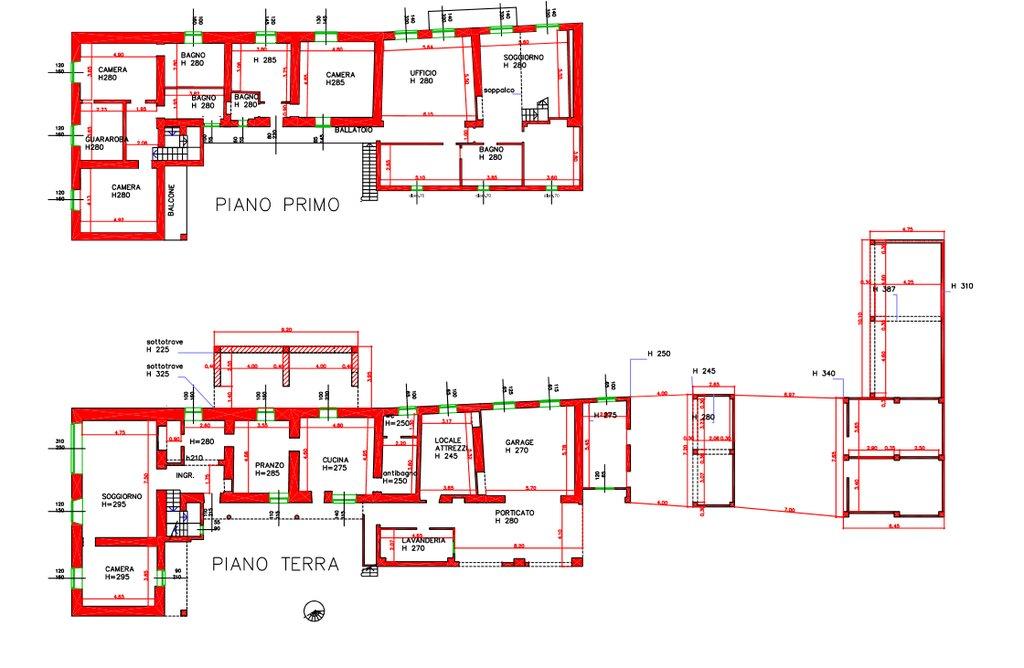 Vendita villa a Leggiuno - planimetria