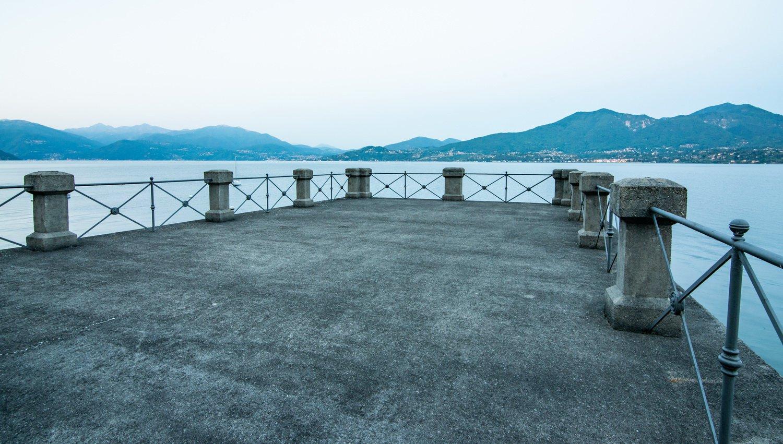Renommierte Villa zur Miete in Oggebbio mit Dock