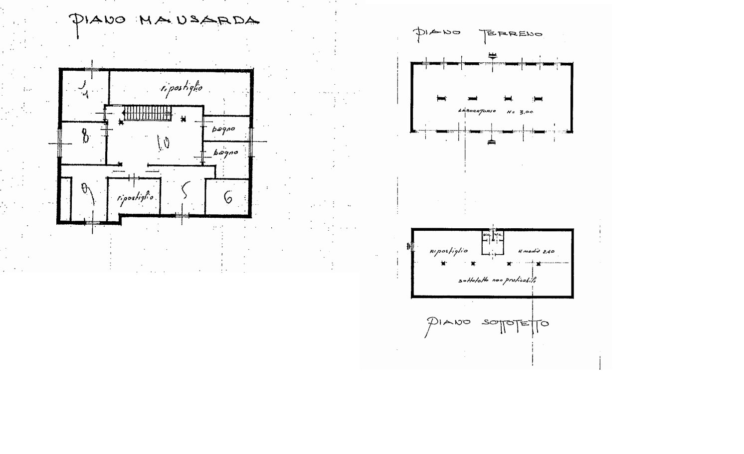 Proprietà in vendita ad Arona - floor plan B