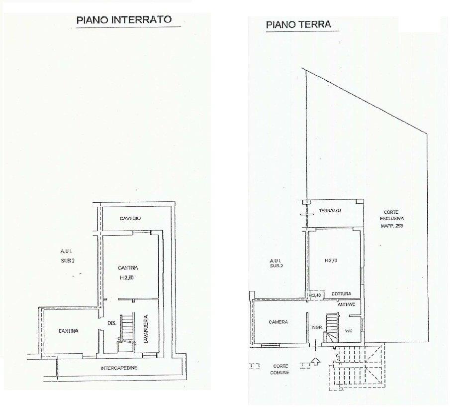 Apartment for sale in Golf Castelconturbia - floor plan