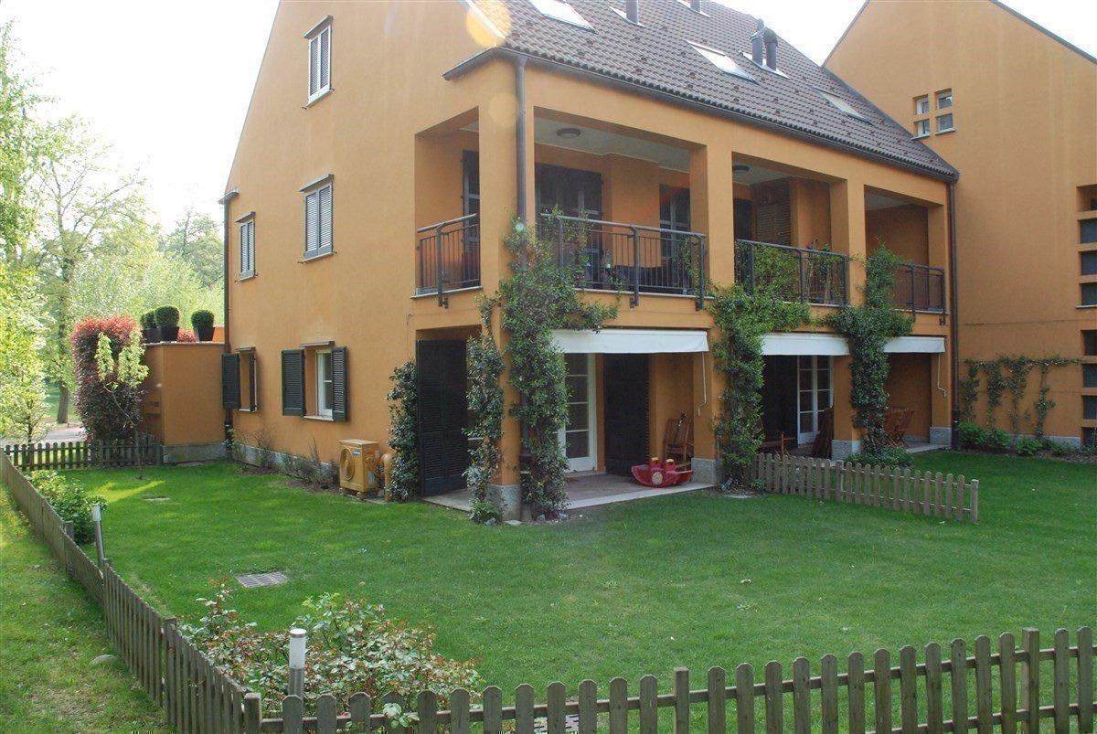 Apartment for sale in Golf Castelconturbia - lawn