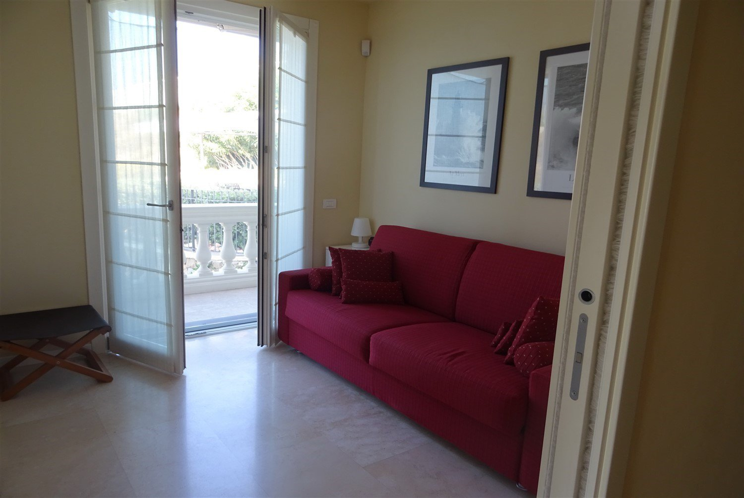 Dream apartment for sale in Sanremo sea view-living room with view