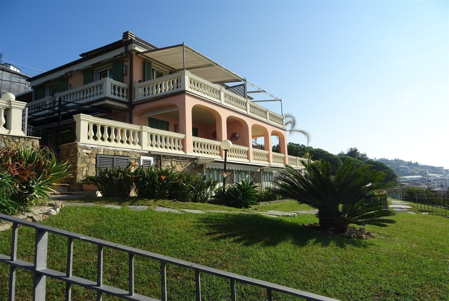 Dream apartment for sale in Sanremo sea-external of the real estate