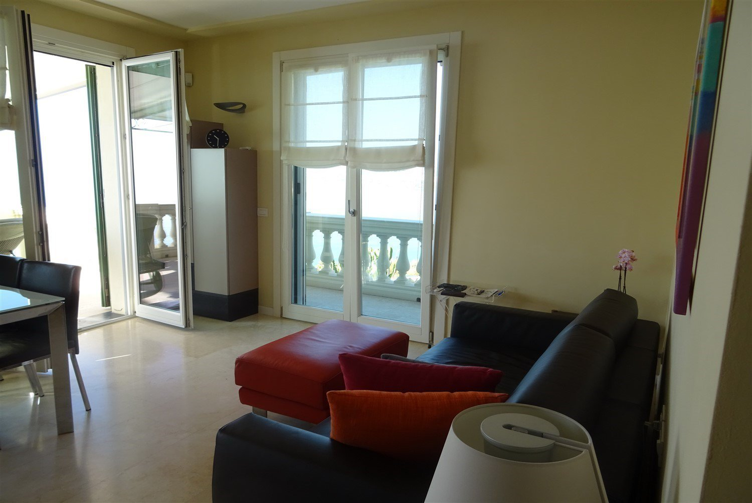 Dream apartment for sale in Sanremo sea view- living room