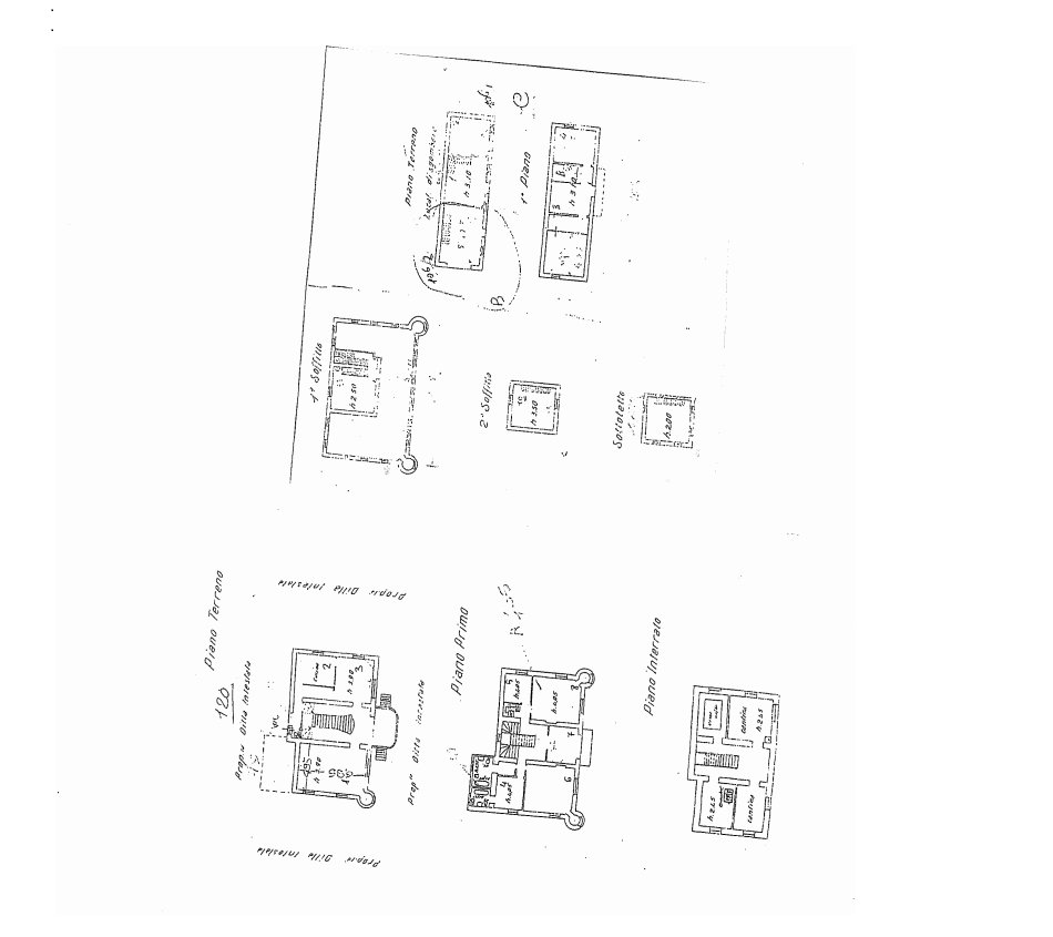 Castle for sale in Stresa on Lake Maggiore - floor plan B